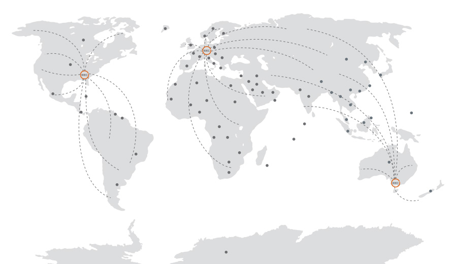 EEC Worldwide Installations